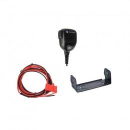 Микрофон стандартный, скоба крепления и кабель питания