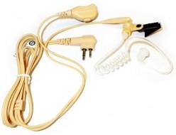 PMLN6445 2-х проводная гарнитура с акустической трубкой, микрофоном РТТ (бежевая) (Копировать)
